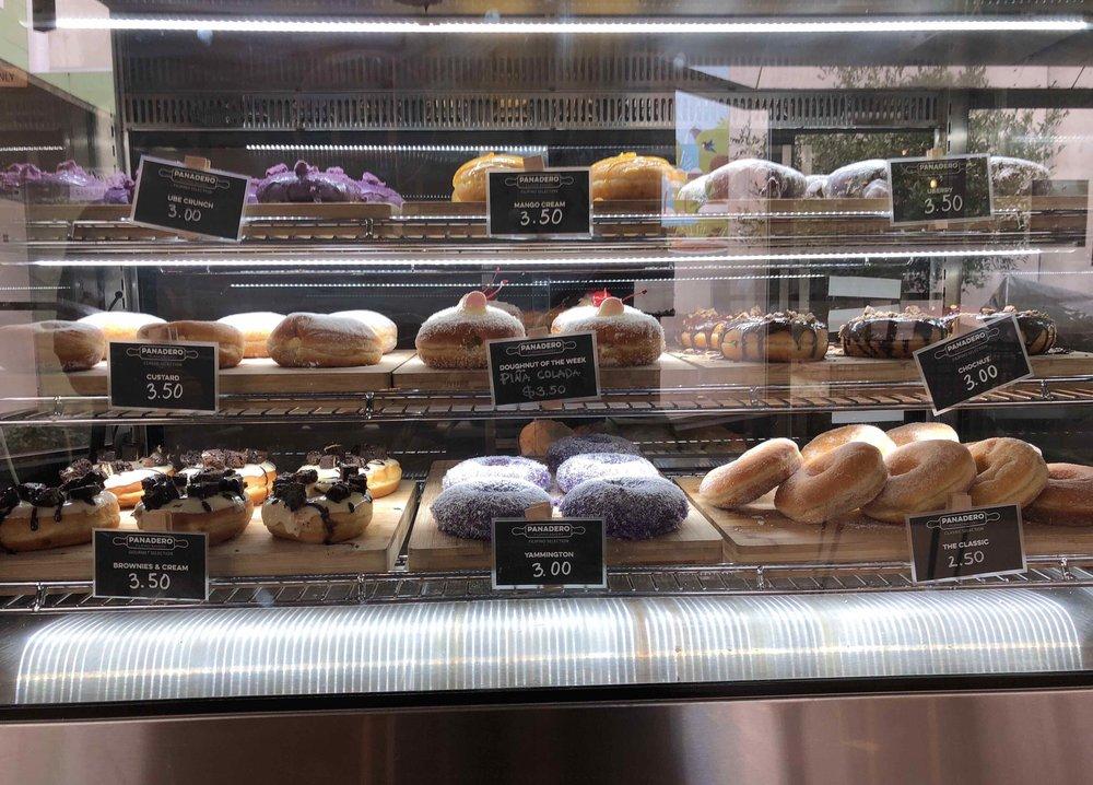 1.Enjoy a coffee and donut for $5! Hidden gem Panadero - Special combo (coffee and donut) for $5. Highly recommend pina colada donut.📷 @Tomomomomo