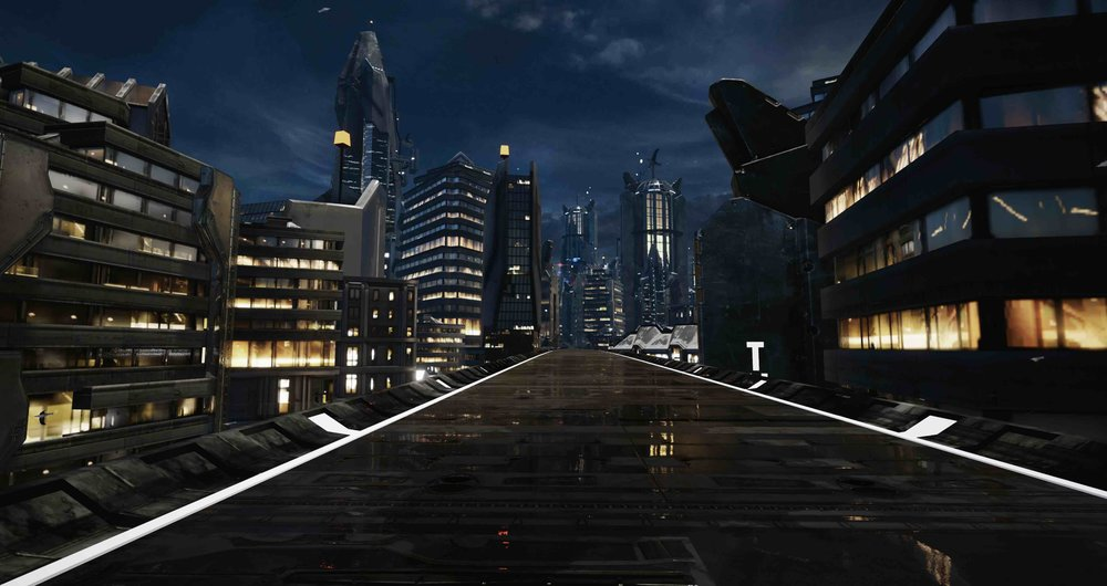 Immersive Ride Experience Worlds: Future City