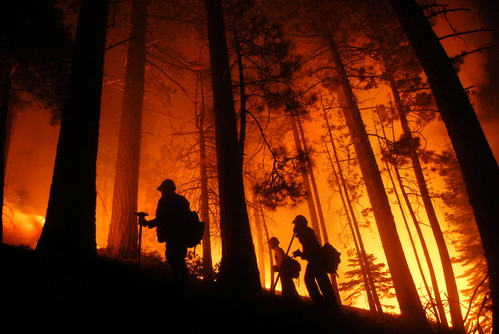 Tahoe Burning - Angora Fire 2007