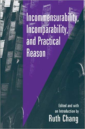 Incommensurability, Incomparability, and Practical Reason, Harvard University Press, 1998 - Can quite different values be rationally weighed against one another? Can the value of one thing always be ranked as greater than, equal to, or less than the value of something else? If the answer to these questions is no, then in what areas do we find commensurability and comparability unavailable? And what are the implications for moral and legal decision making? In this book, some of the sharpest minds in philosophy struggle with these questions.
