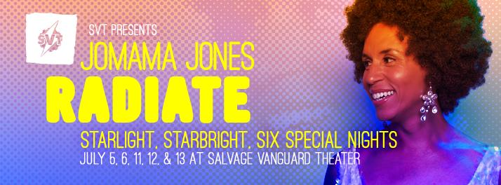 Jomama Jones: Radiate