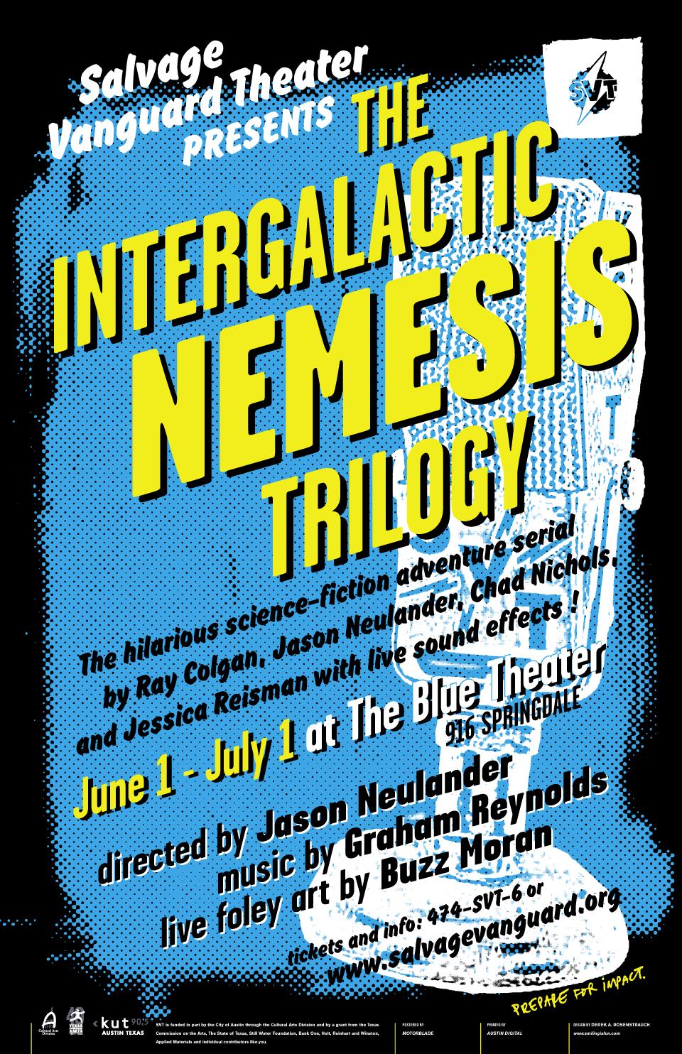 The Intergalactic Nemesis Trilogy