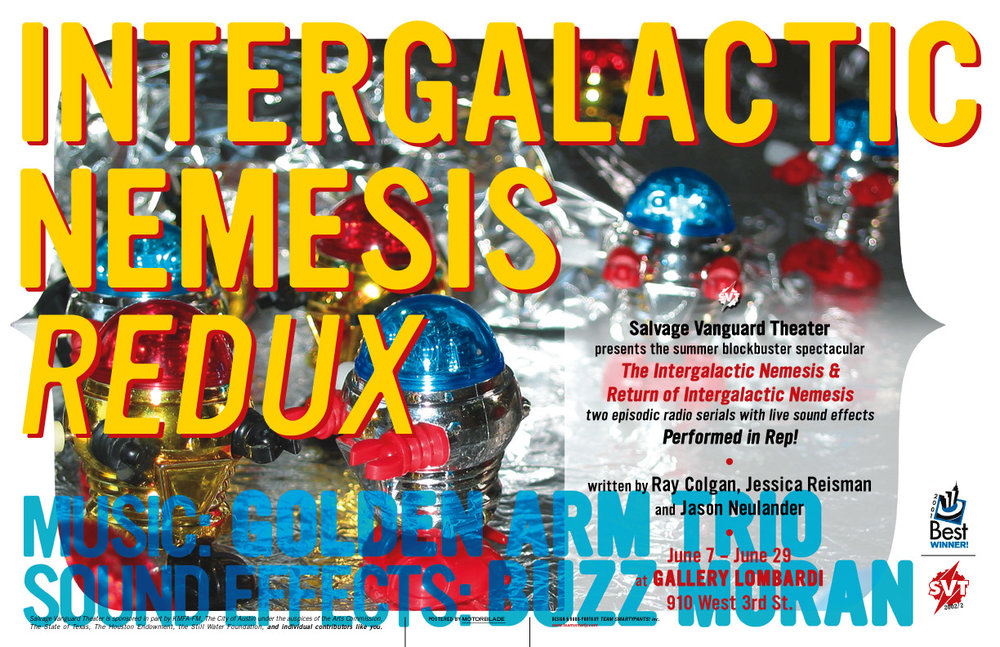 Intergalactic Nemesis Redux!