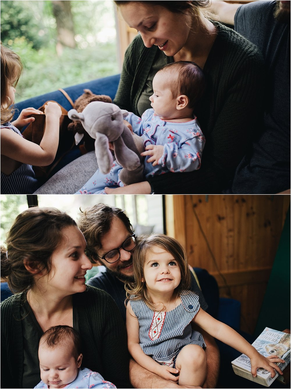 Three Month Old Newborn Session