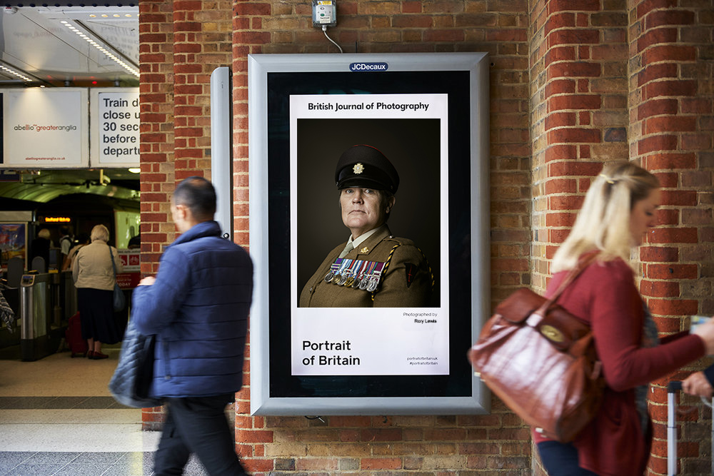 Warrant Officer Class 2 Deborah Penny London Portrait Photographer Rory Lewis