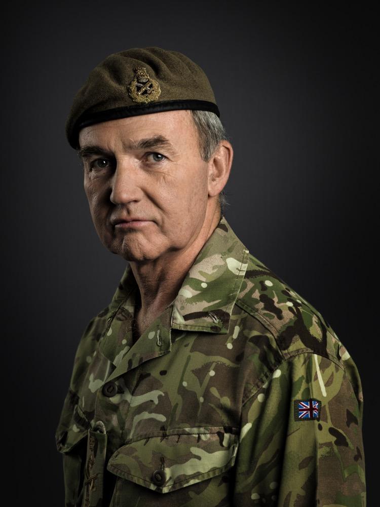 General Sir John Nicholas Reynolds Houghton, GCB, CBE, ADC Rory Lewis 2014