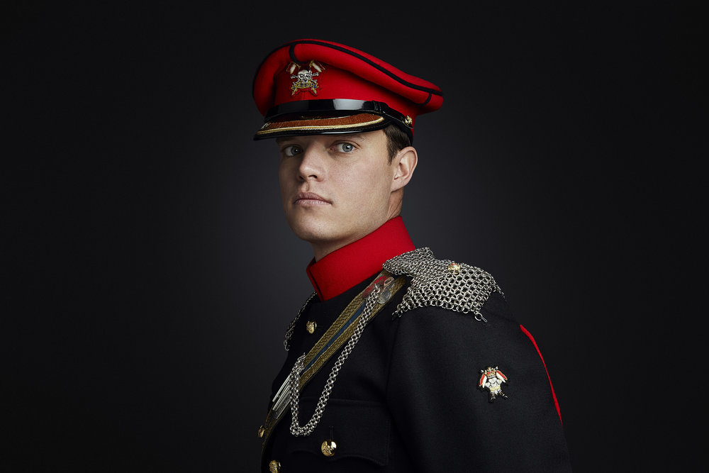Military Portrait Photographer London, Rory Lewis