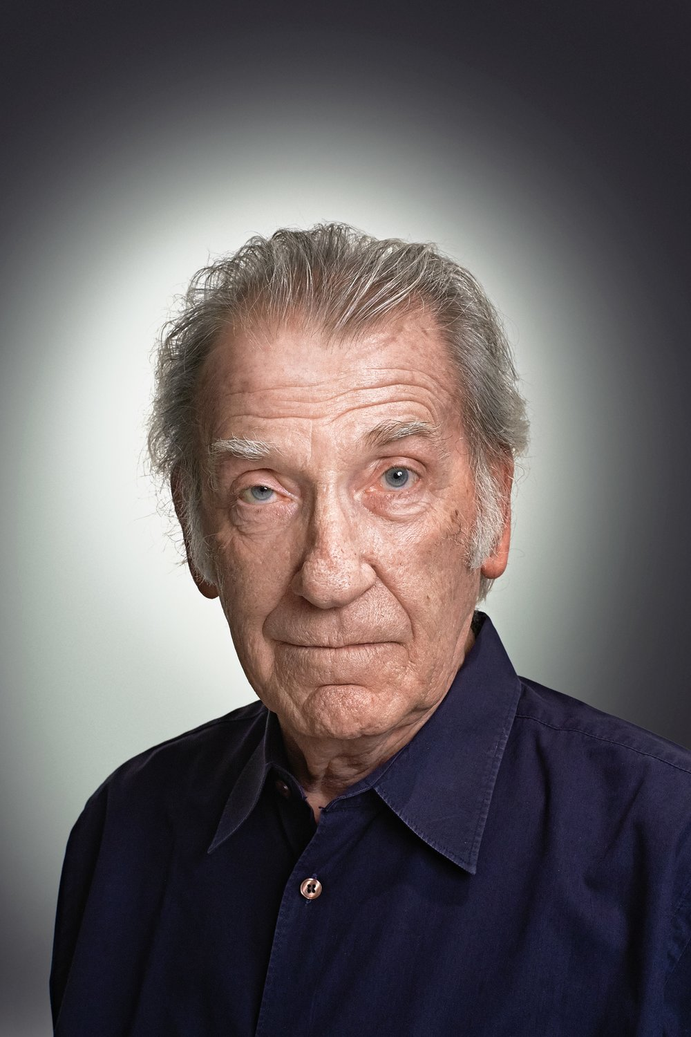 David Warner well know English Actor Portrait By Rory Lewis Photographer