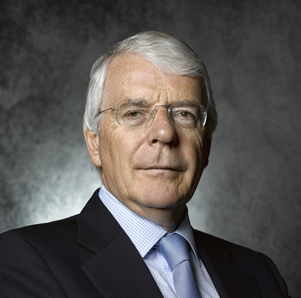 Sir John Major, KG, CH, PC Rory Lewis London Portrait Photographer