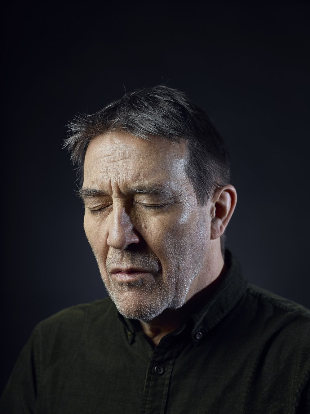 Actor    Ciarán Hinds,    London Portrait Photographer Rory Lewis