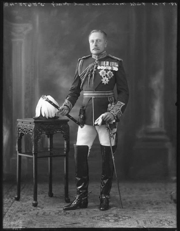 Douglas Haig, 1st Earl Haig by Bassano Ltd whole-plate glass negative, 19 July 1921