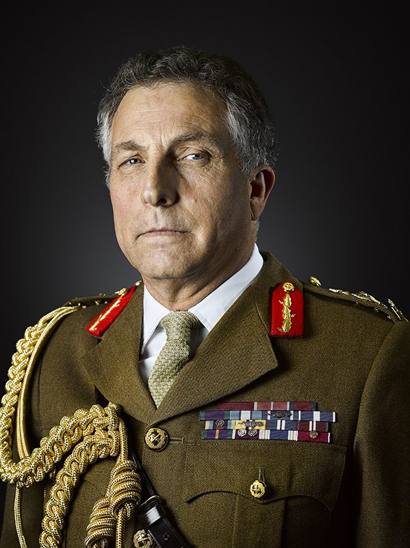 General Sir Nicholas Carter, KCB, CBE, DSO, ADC Military Portrait Photographer Rory Lewis