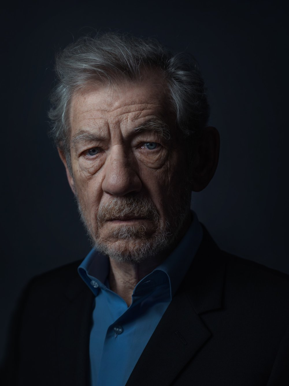 Sir Ian McKellen Taken 1st May 2014 Copyright Rory Lewis Photographer