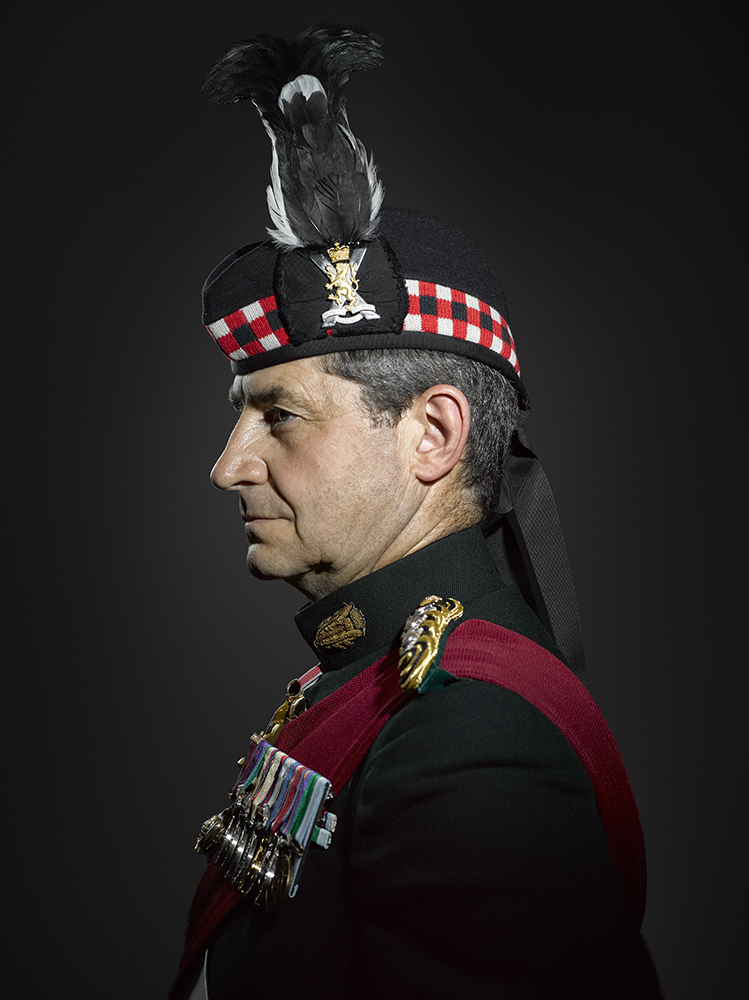 Major General Bob Bruce CBE, DSO, London Portrait Photographer Rory Lewis