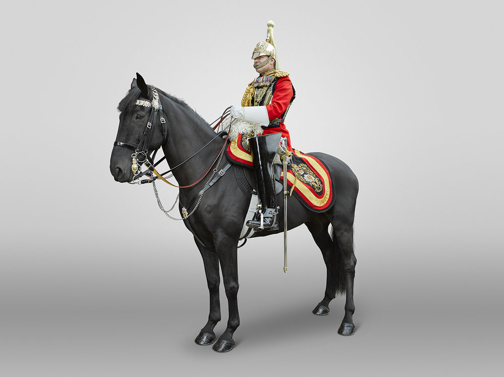 Lieutenant Colonel Gaselee LG, The Household Cavalry Mounted Regiment  (Rory Lewis London Portrait Photographer )