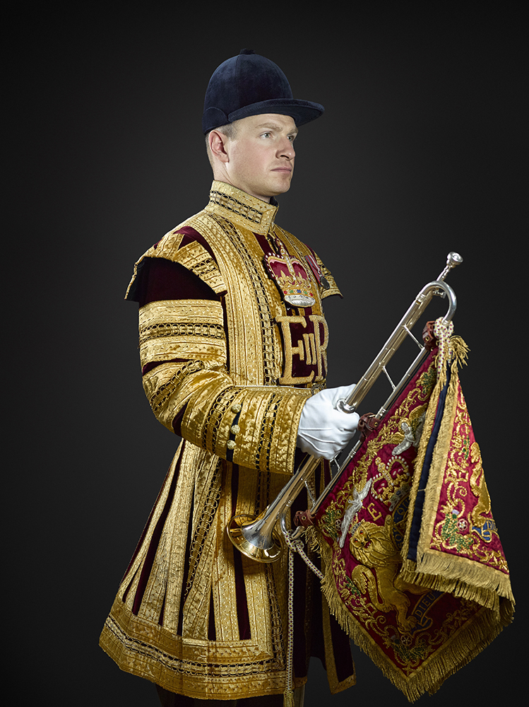 Lance Corporal of Horse Wrighton, The Household Cavalry Mounted Regiment (Rory Lewis  London Portrait Photographer )