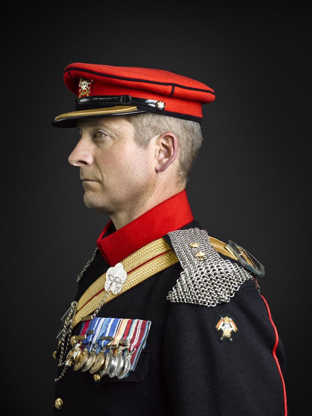 Lt Colonel Mudd DSO The Royal Lancers (Rory Lewis London Portrait Photographer)