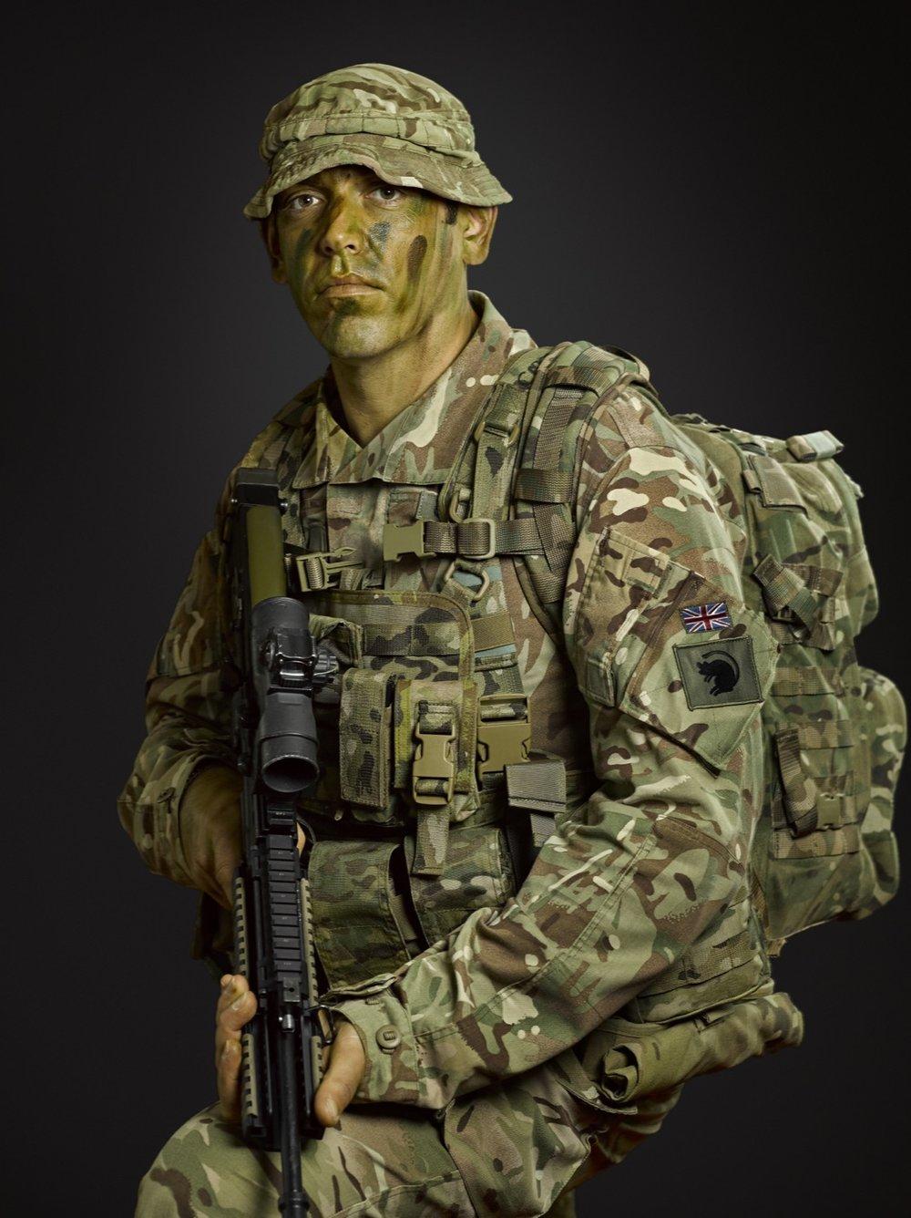 Sergeant Cawthorne (The Light Dragoons) (Rory Lewis London Portrait Photographer)