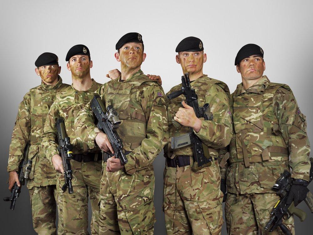 The Royal Tank Regiment (Rory Lewis London Portrait Photographer)