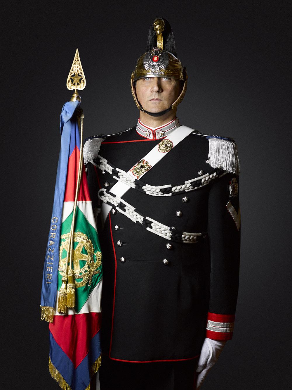 Reggimento Corazzieri (Rory Lewis Portrait Photographer) London & Rome