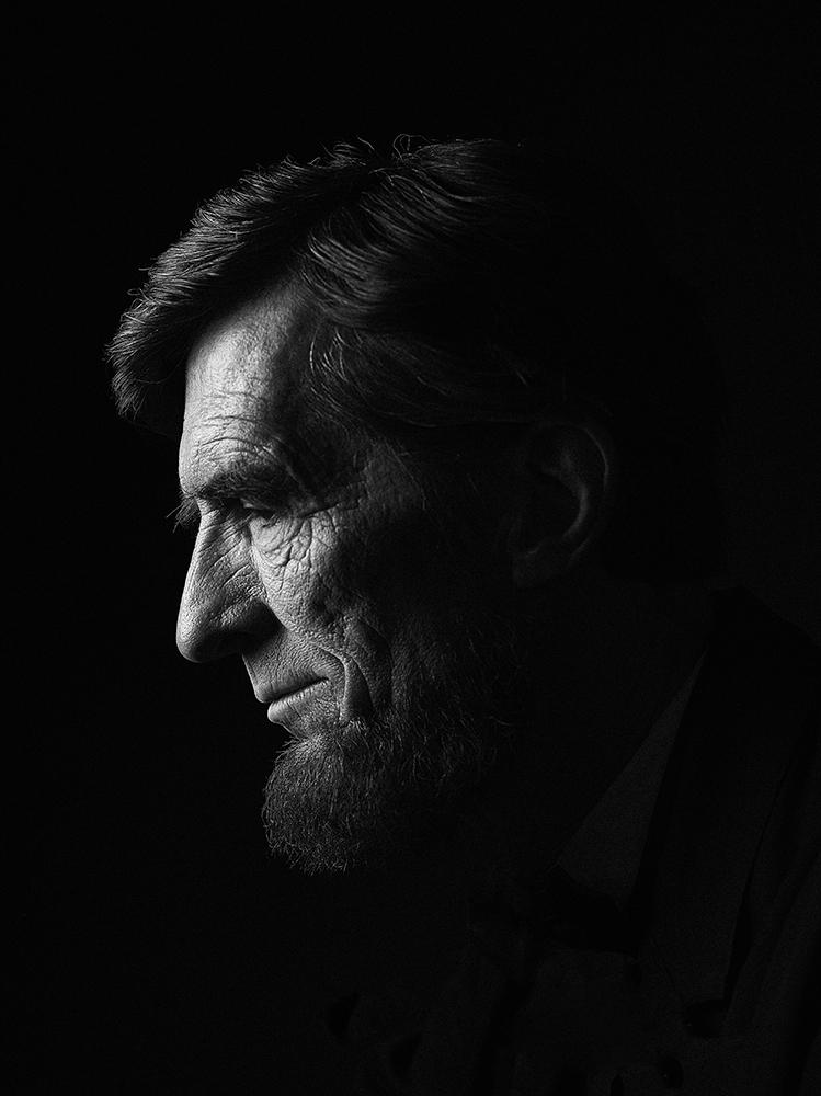 Robert Broski (Abraham Lincoln Portrait Sitting), (Los Angeles) Rory Lewis Photographer 2019