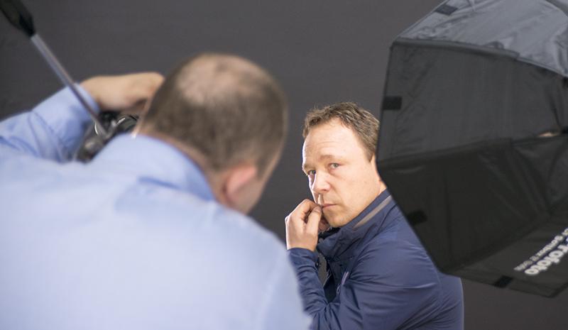 Stephen Graham Portrait Sitting (Rory Lewis Photographer)