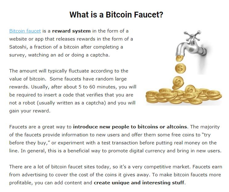 Most of the non-faucet sources work the same way…