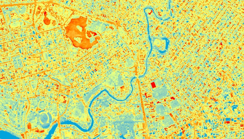 Urban Heat Mapping - Explore high-resolution surface temperature data for the Adelaide metropolitan area. Enter your address to see how hot or cool your property is.