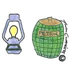 Lampade e petrolio €45