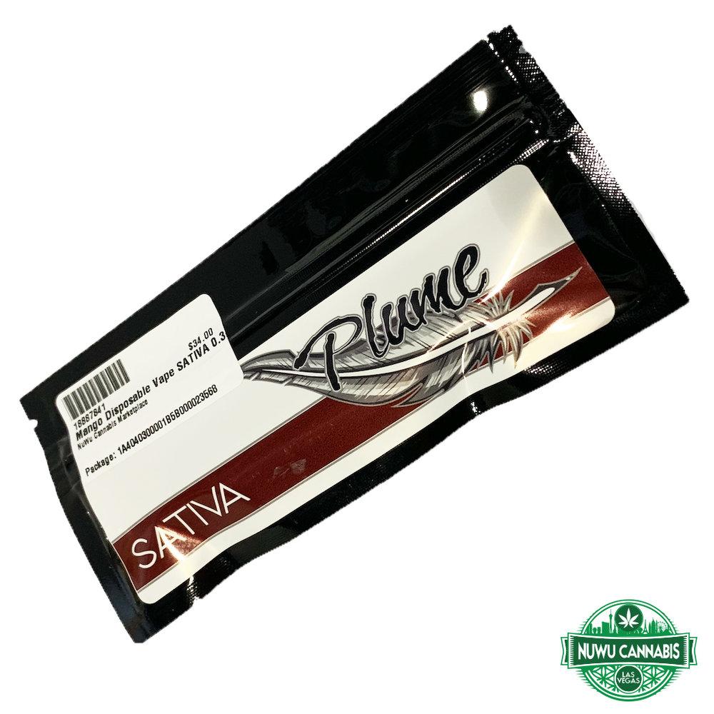 Mango disposable vape pen by Plume