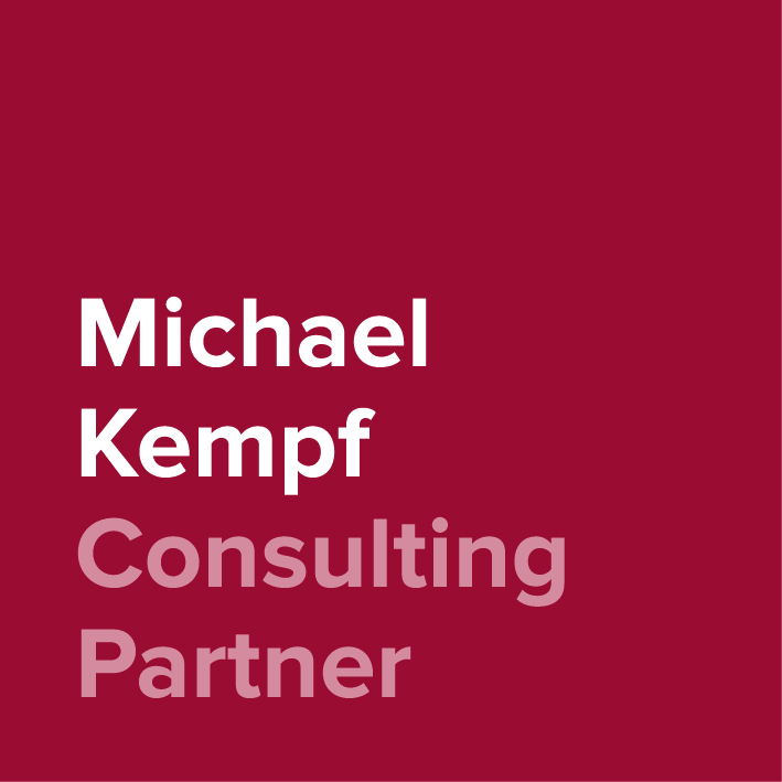 Michael Kempf - Consulting Partner