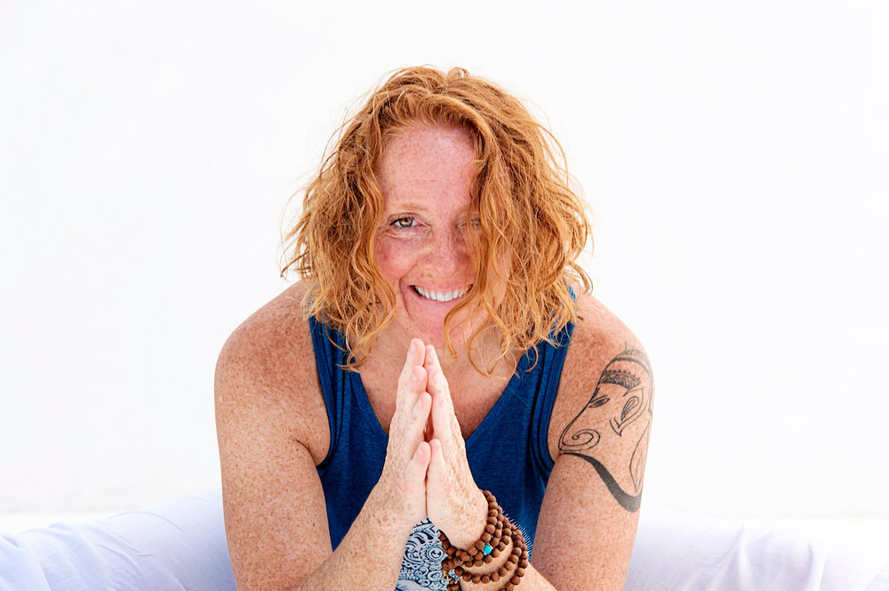 Malaurie Barber - Forrest Yoga Certified Teacher, Kundalini and Khalsa Way Pregnancy Certified Teacher; Energy Healer and Certified Massage Therapist.Malaurie was raised in Paris, France and was introduced at a very young age to meditation, eastern philosophy and healing. She moved to the United States 23 years ago and lived in Maryland for 11 years before moving to California 17 years ago. She earned her Hatha Yoga certification by studying with Ana Forrest 12 years ago and went on shortly after to study Kundalini and Pregnancy Yoga with Gurmukh.Malaurie's style of yoga is a blend between Forrest Yoga and Vinyasa flow yoga. She puts a strong emphasizes on the breath and body alignment while incorporating meditation and awareness of the body in every pose. Her classes are often accompanied by Up beat and meaningful music and she does not shy away from playing the likes of The Black Eye Peas, Jason Mraz, India Arie while mixing in more deeply meditative tunes such as Snatnam Kaur, Donna de Lory or Deva Premal.Malaurie's first yoga DVD - Not Your Every Day Yoga: Journey Into Inner Strength - came out in December 2012.Malaurie's thoughts on yoga: