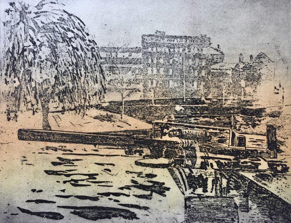 'Towards the Chubb' etching Linda Nevill.jpg