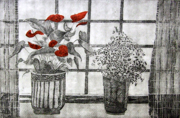 Flamingo plant etching Linda Nevill x.jpg