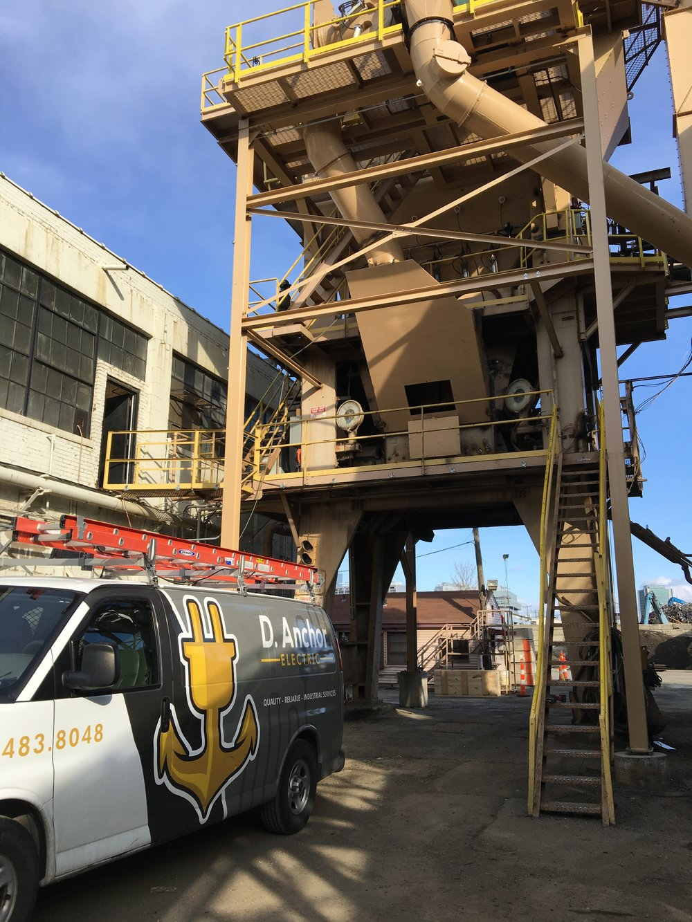 Concrete & Asphalt - We are responsible for building and installing, troubleshooting, repairing and maintaining 3 Phase Electrical Services and Motor Control Centers. VFD s and Soft Starters, Manual, Automated and PLC Control Systems associated with concrete and asphalt plants.