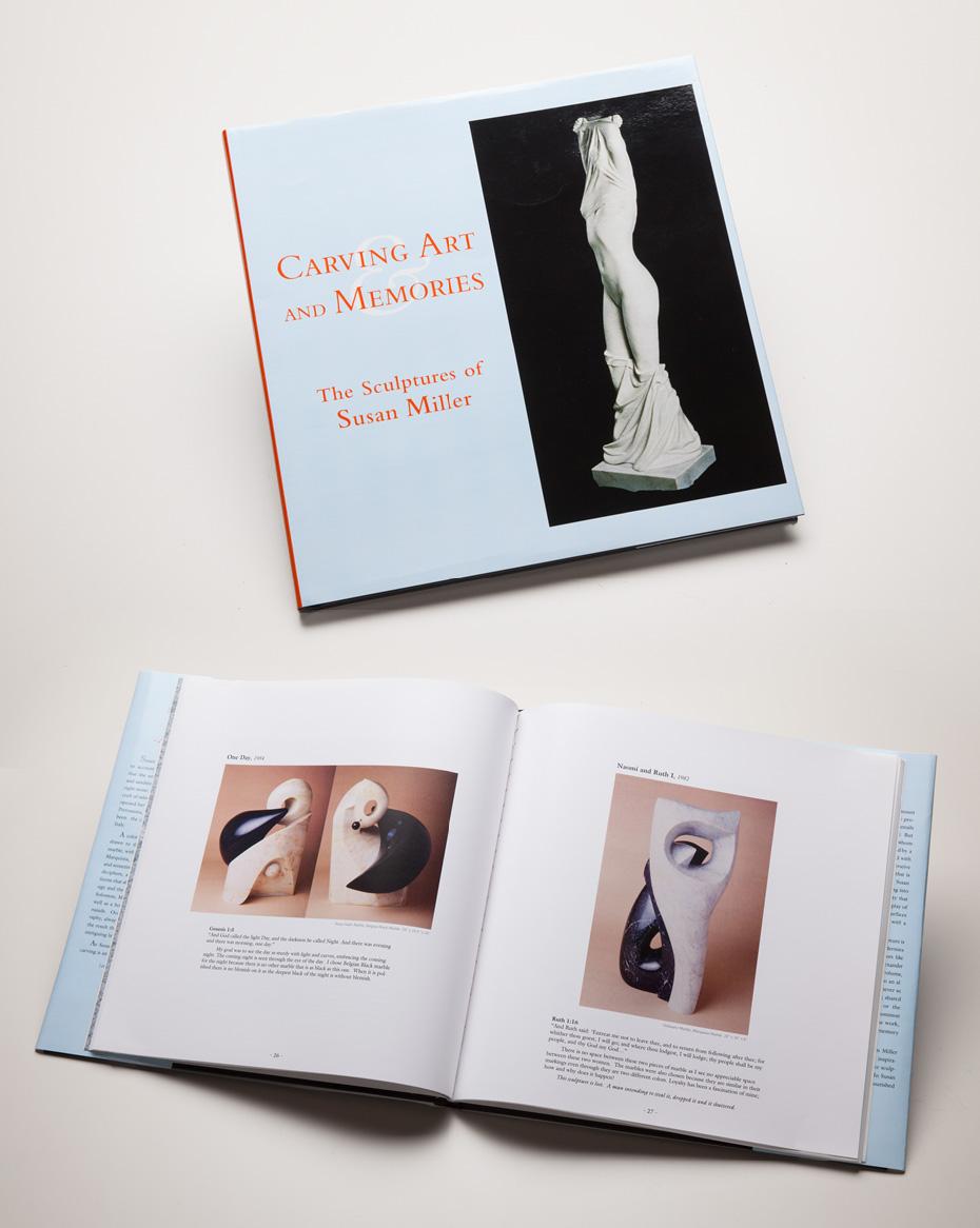 Carving Art and Memories  - Susan Miller