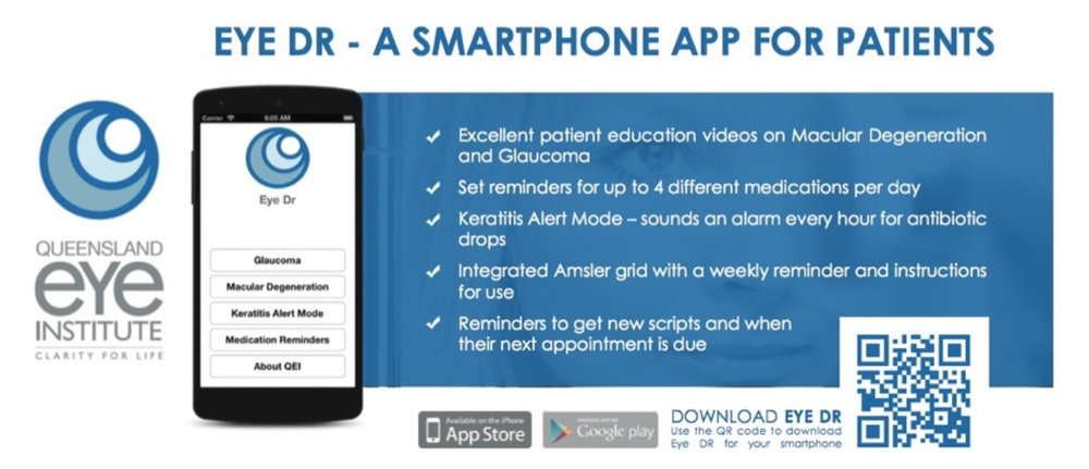 EyeDr Smart Phone App for Patients Queensland Eye Institute.jpg