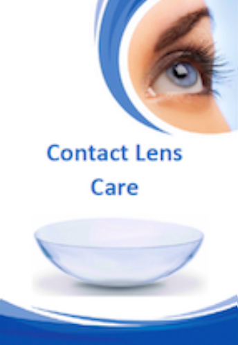 Contact Lens Care Brochure from Brisbane Opthalmologist Dr Brendan Cronin Queensland Eye Institute.