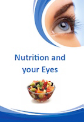 Nutrition and your Eyes Brochure for Brisbane Ophthalmologist Dr Brendan Cronin  Queensland Eye Institute.