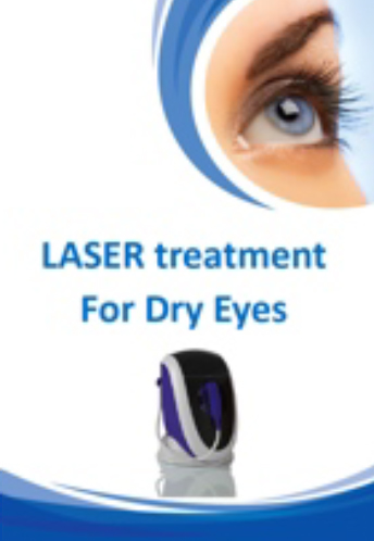 Laser Eye Treatment for Dry Eyes Brochure for Brisbane Ophthalmologist Dr Brendan Cronin  Queensland Eye Institute.