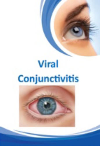 Viral Conjunctivitis Brochure for Brisbane Ophthalmologist Dr Brendan Cronin  Queensland Eye Institute.