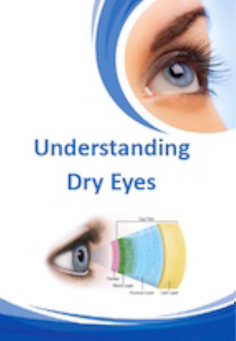 Understanding Dry Eyes Brochure for Brisbane Ophthalmologist Dr Brendan Cronin  Queensland Eye Institute.