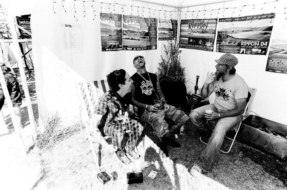 Jon Toogood, Tiki Taane and Warren Maxwell