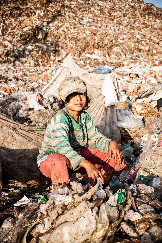 Mae Sot rubbish dump