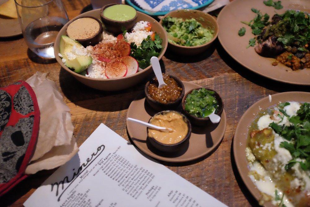 Julia Friedman Mexican Food at Minero in Charleston, South Carolina .