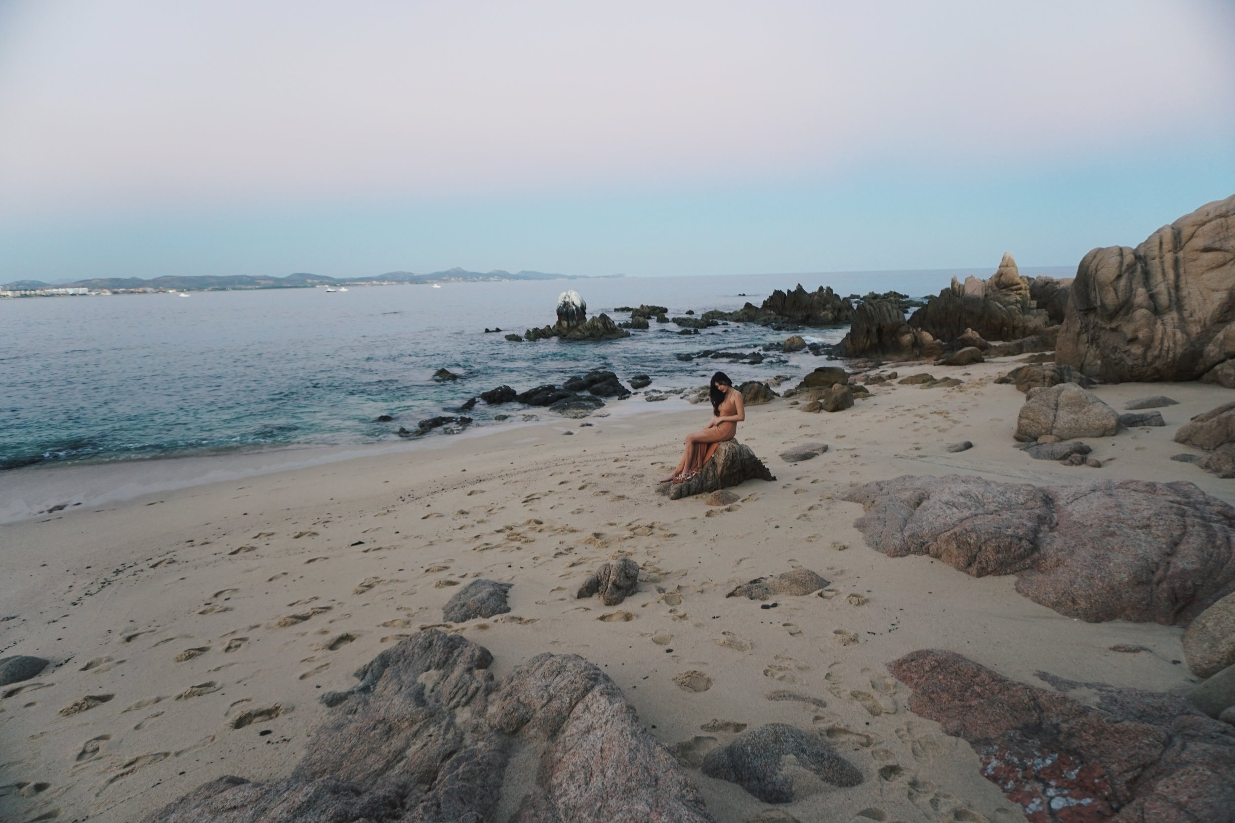 Sunset at the One and Only Palmilla with Julia Friedman.