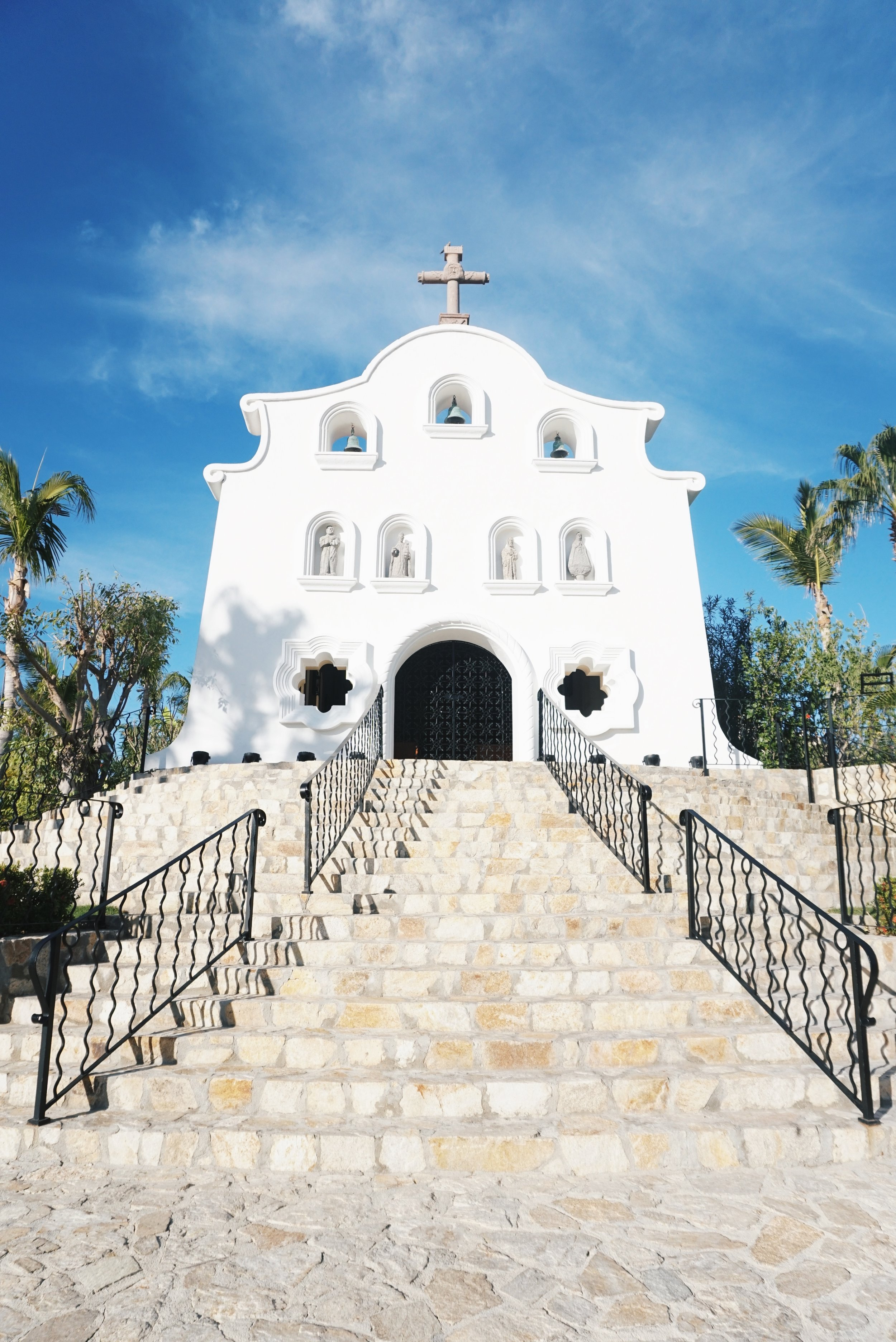Chapel at the One and Only Palmilla in Cabo by Julia Friedman.