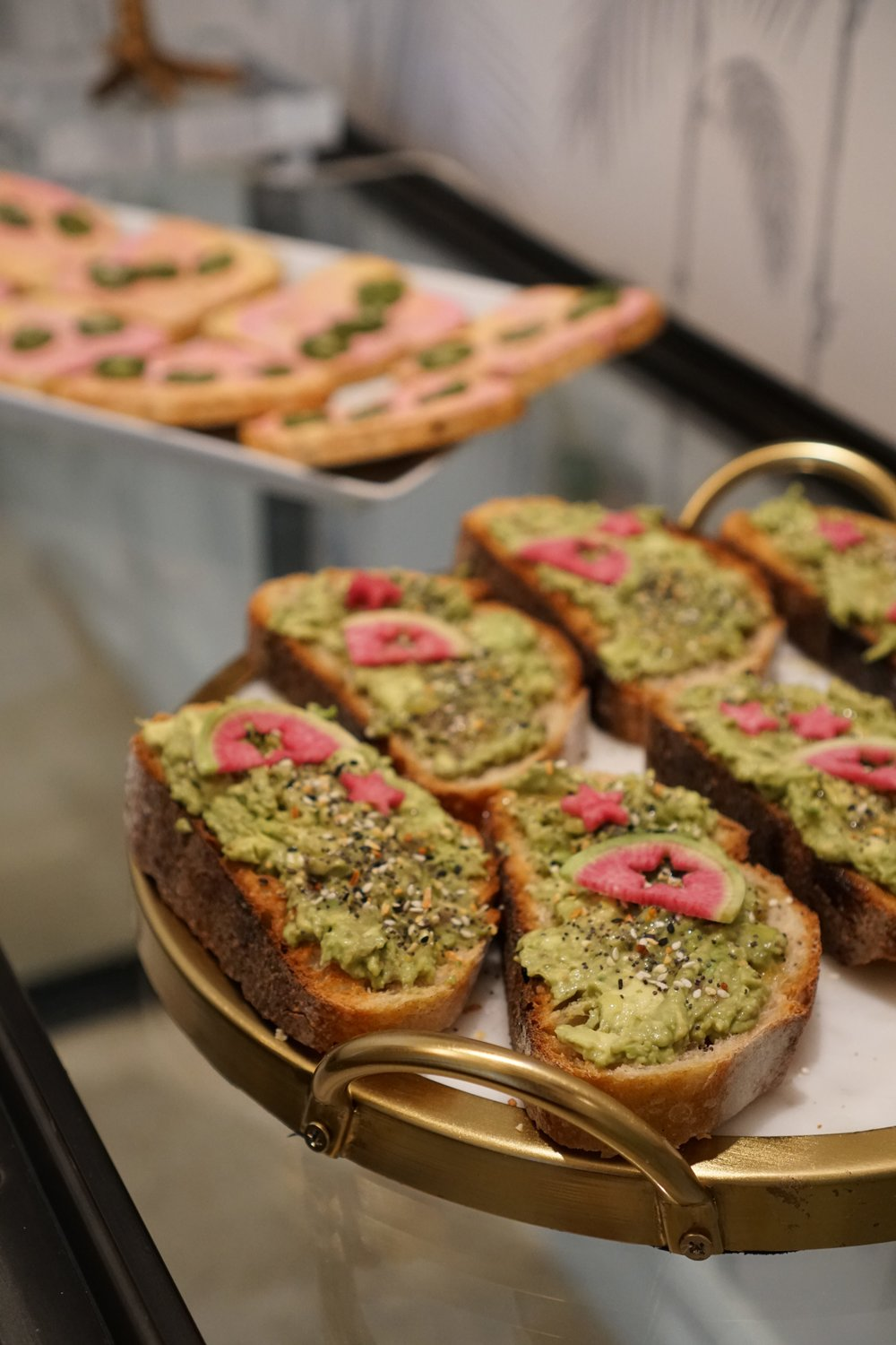 Unicorn Toast in Miami by Vibrant and Pure.
