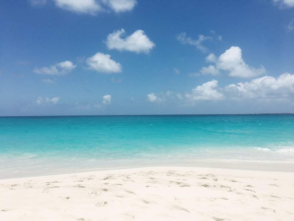 Julia Friedman's view from One&Only Ocean Club in the Bahamas.