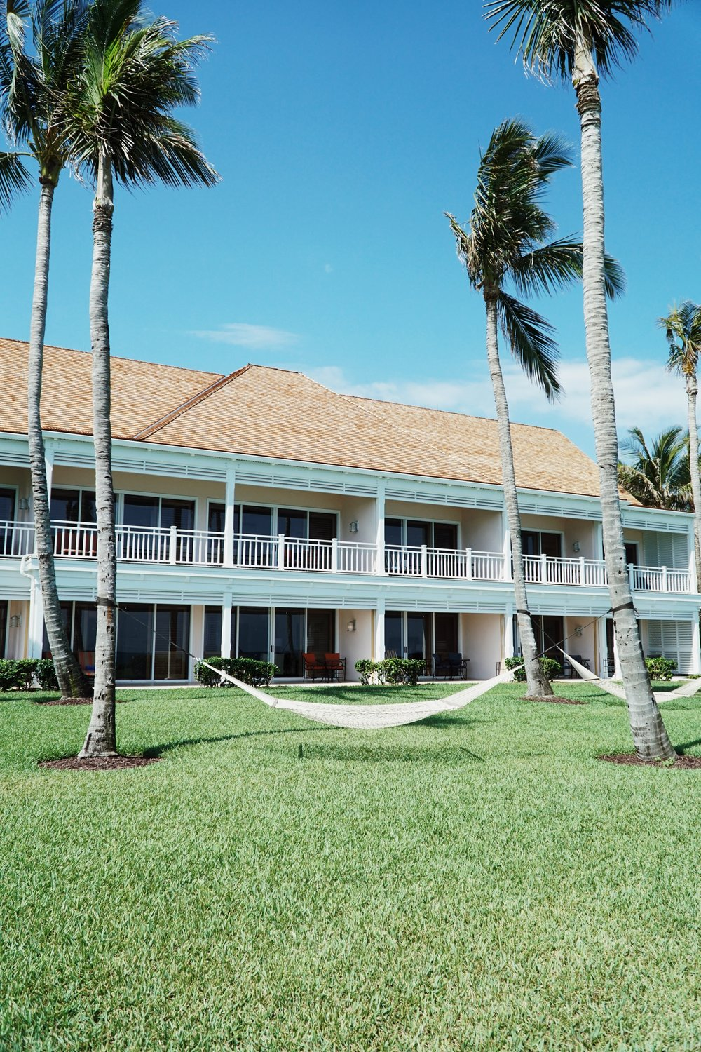 The Crescent Wing of the One&Only Ocean Club in the Bahamas taken by Julia Friedman